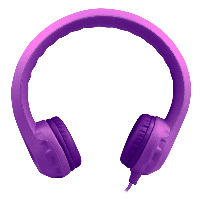 Purple Indestructible Headphoneflexphone Foam