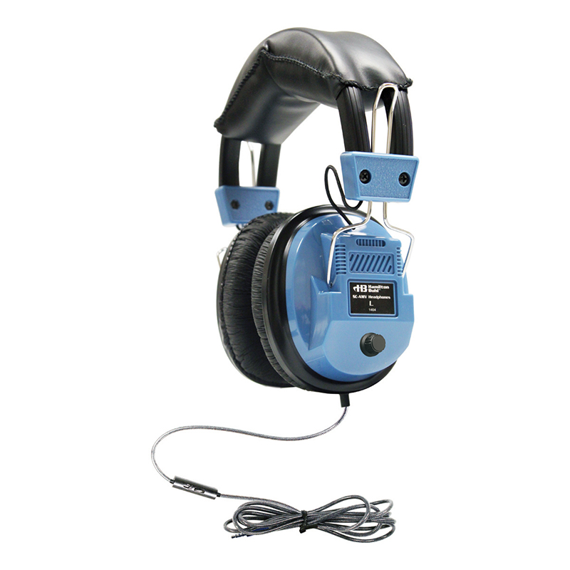Icompatible Deluxe Headset W Inline Microphone