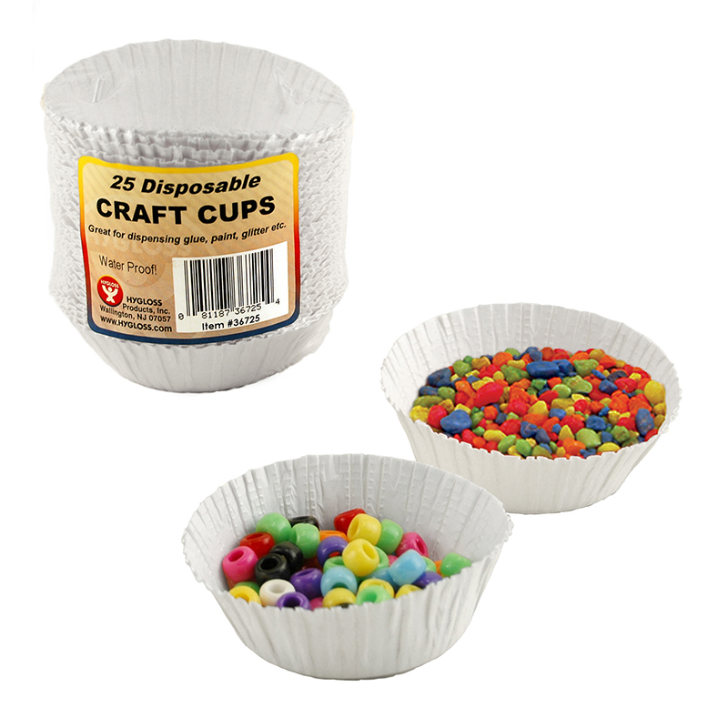 (5 Pk) Craft Cups 25 Cups