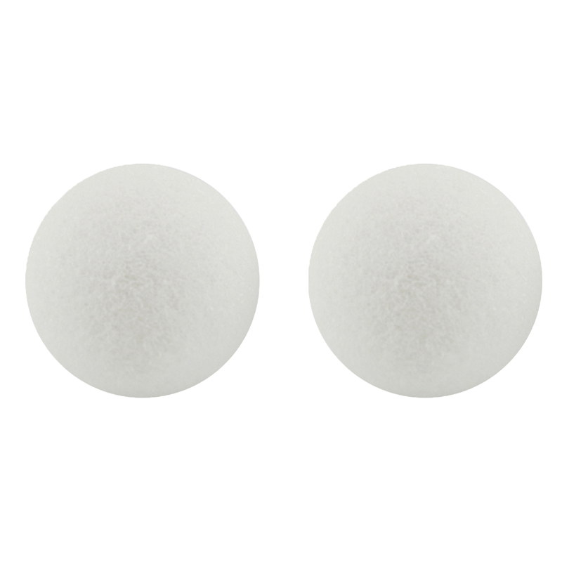 Styrofoam 4in Balls Pack Of 12