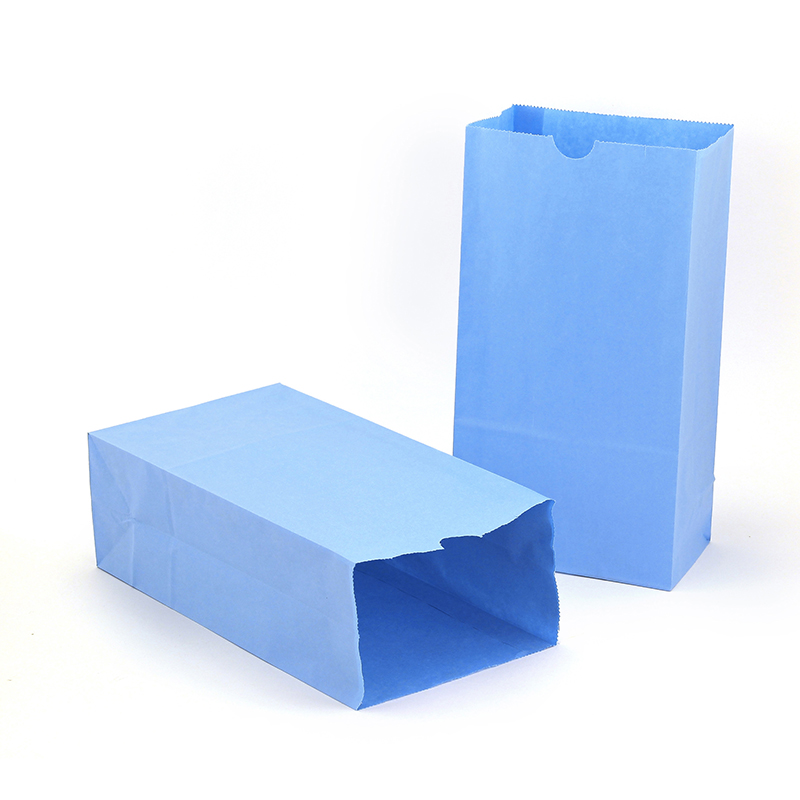 (2 Pk) Colored Craft Bags Sky Blue