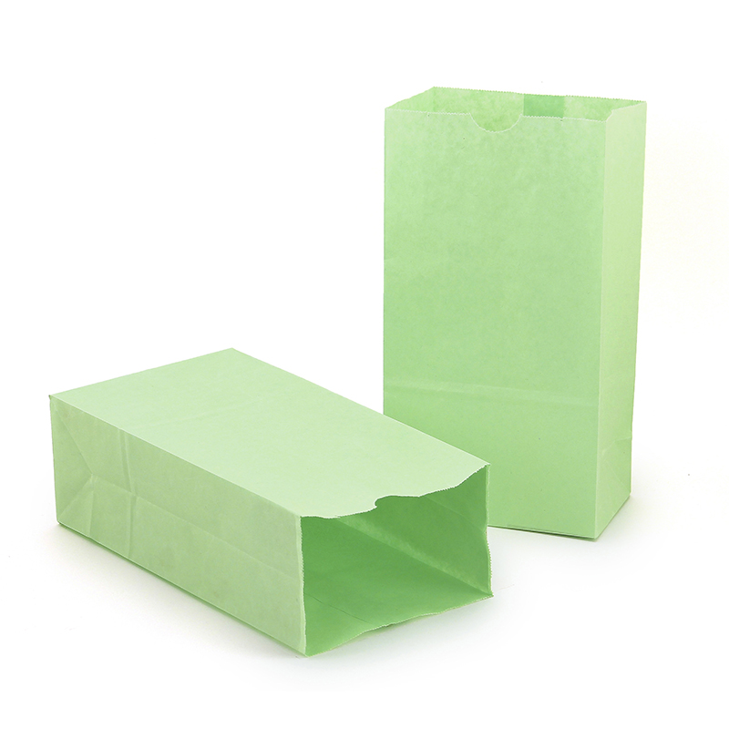 (2 Pk) Colored Craft Bags Limegreen