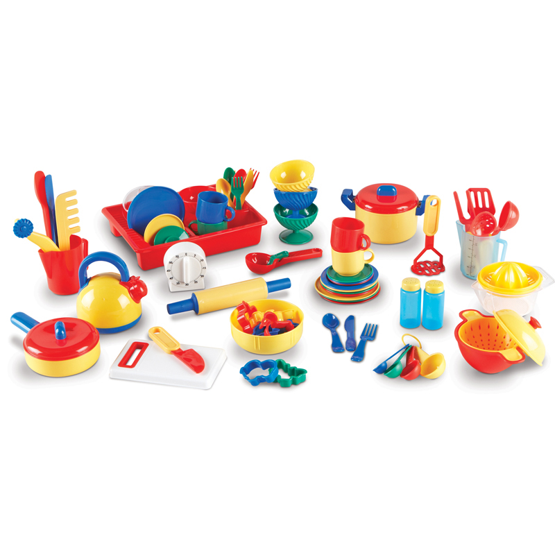 Pretend & Play Kitchen Set 70 Pcs