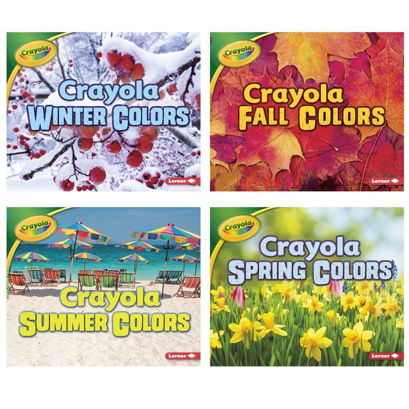 Crayola Seasons St Of 4 Booksslide