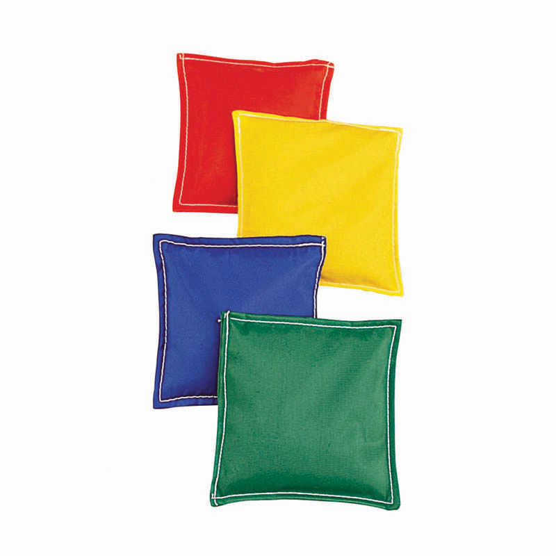 Bean Bags 5.75x5.75 12pk Cloth Cvrplastic Bead Filling