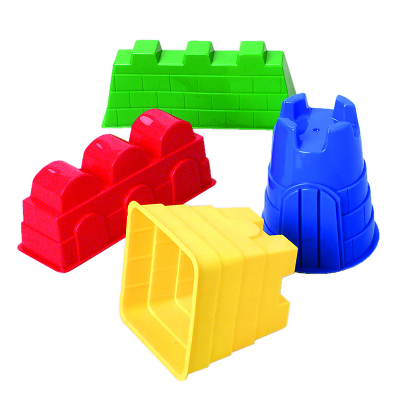 Sand Castle Molds 4/set