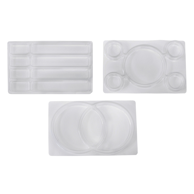 (2 Pk) Roylco See Through Sortingtrays