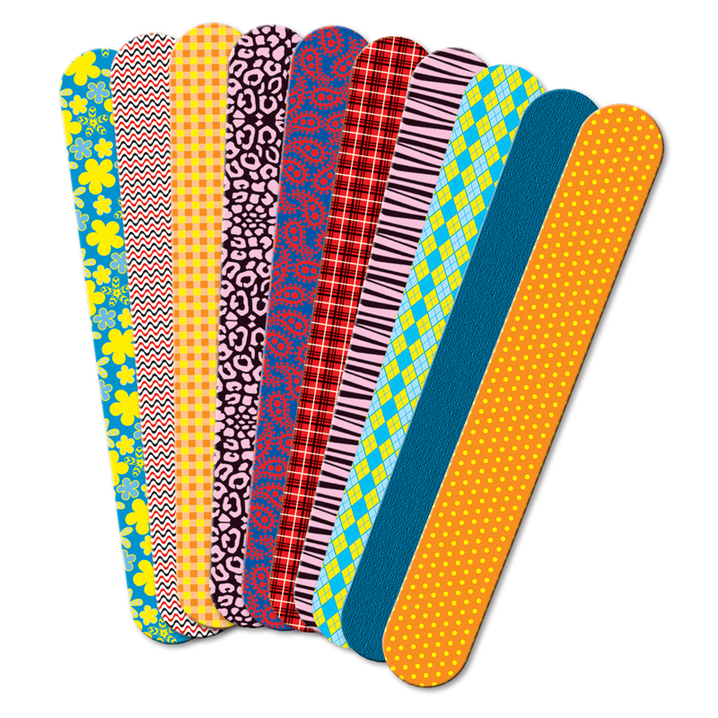 Roylco Printed Craft Sticks Fabricprints