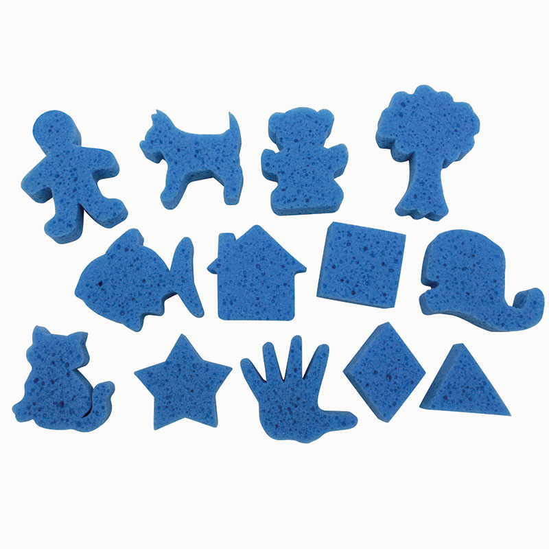 Super Value Favorite Shapes Dip Andprint Painting Sponges