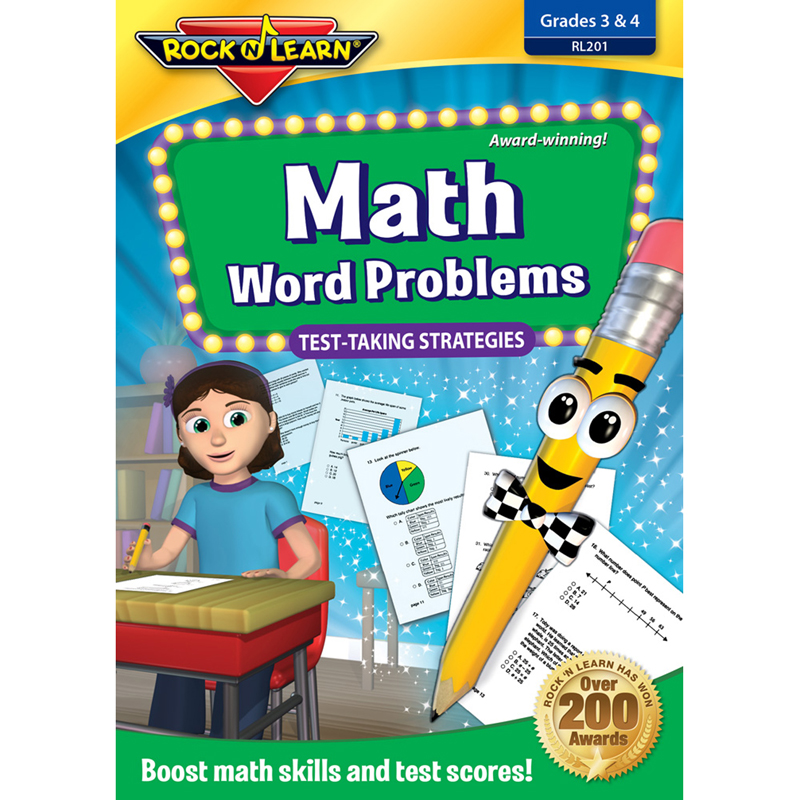 Math Word Problems Test Takingstrategies Dvd