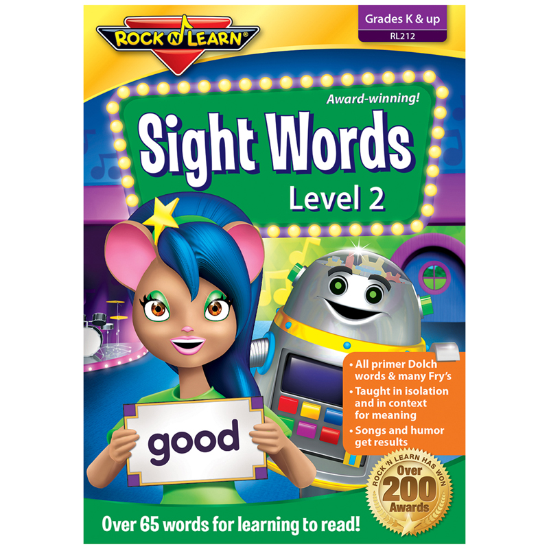 Sight Words Vol 2 Dvd