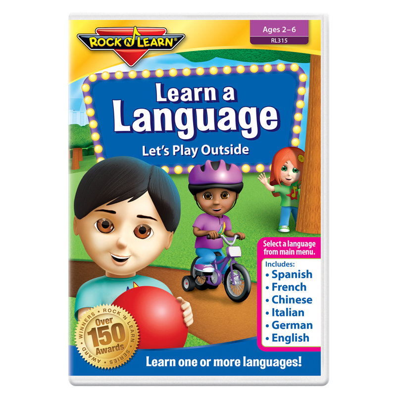Rock N Learn Learn A Language Dvdlets Play Outside
