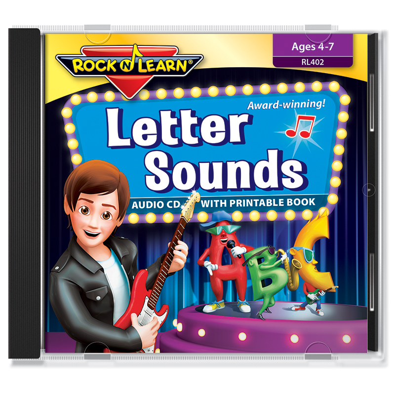 Letter Sound Cd & Downloadable Book