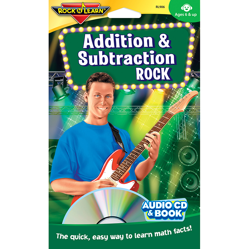 Addition & Subtraction Rock Cd &book