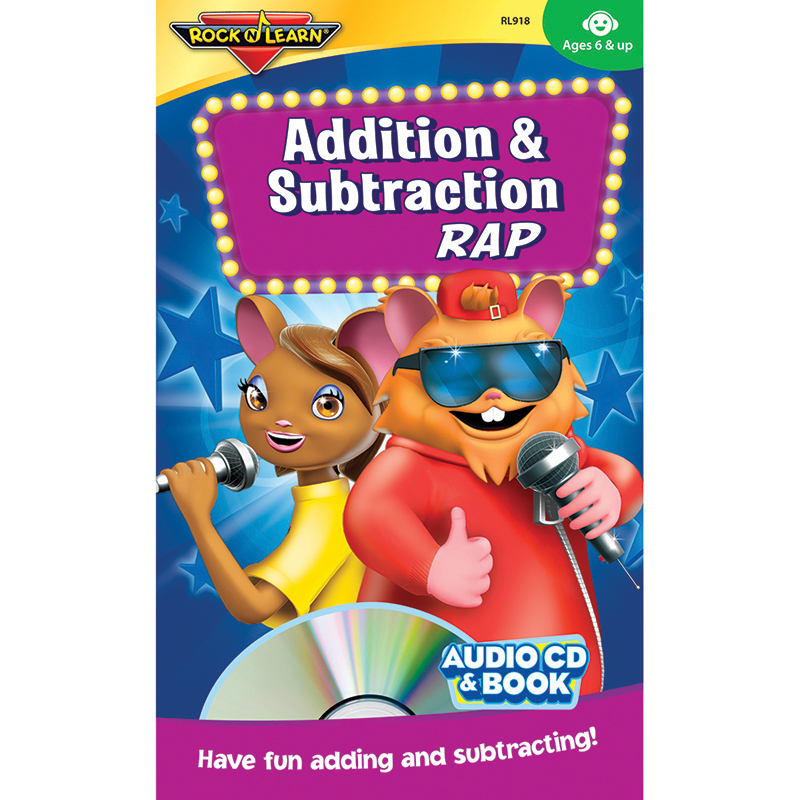 Addition & Subtraction Rap Cd &book