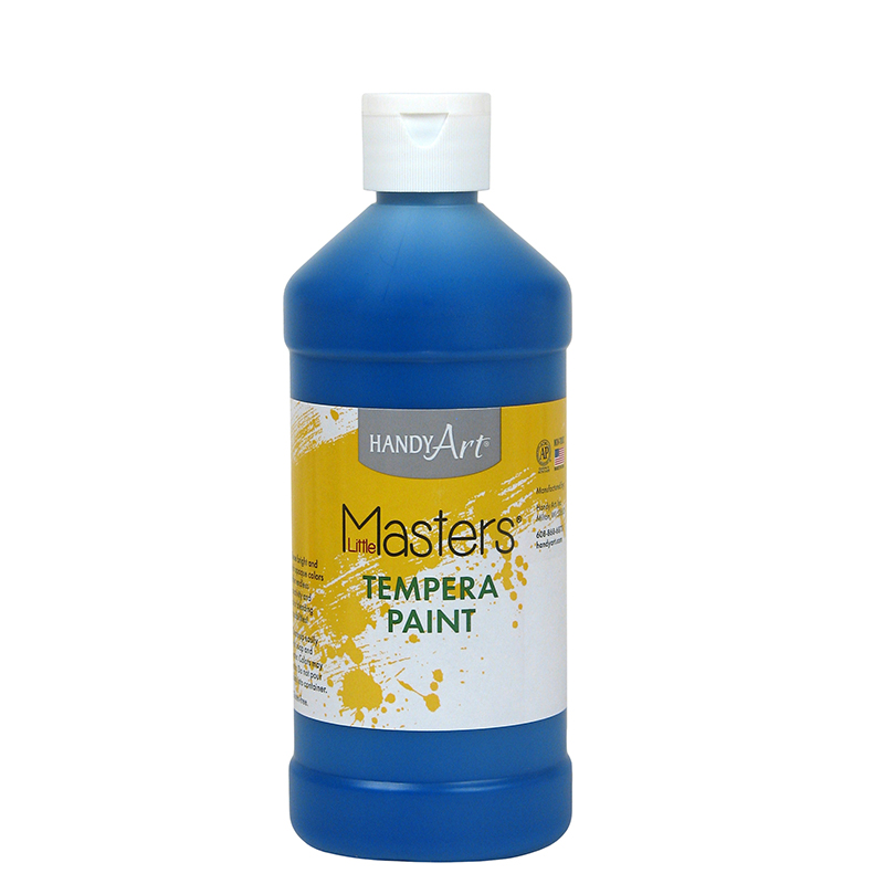 Little Masters Blue 16oz Temperapaint