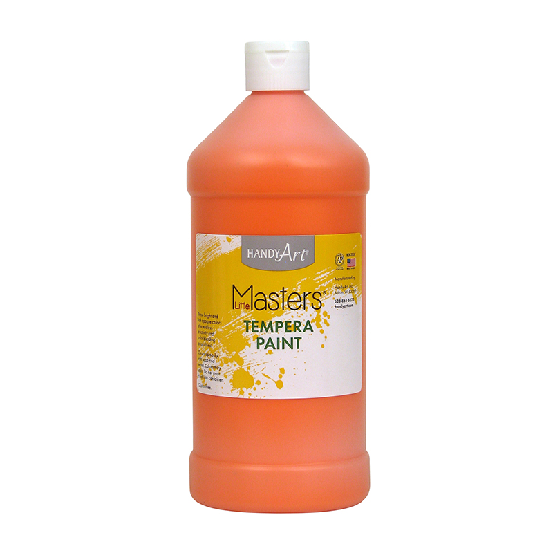 Little Masters Orange 32oz Temperapaint