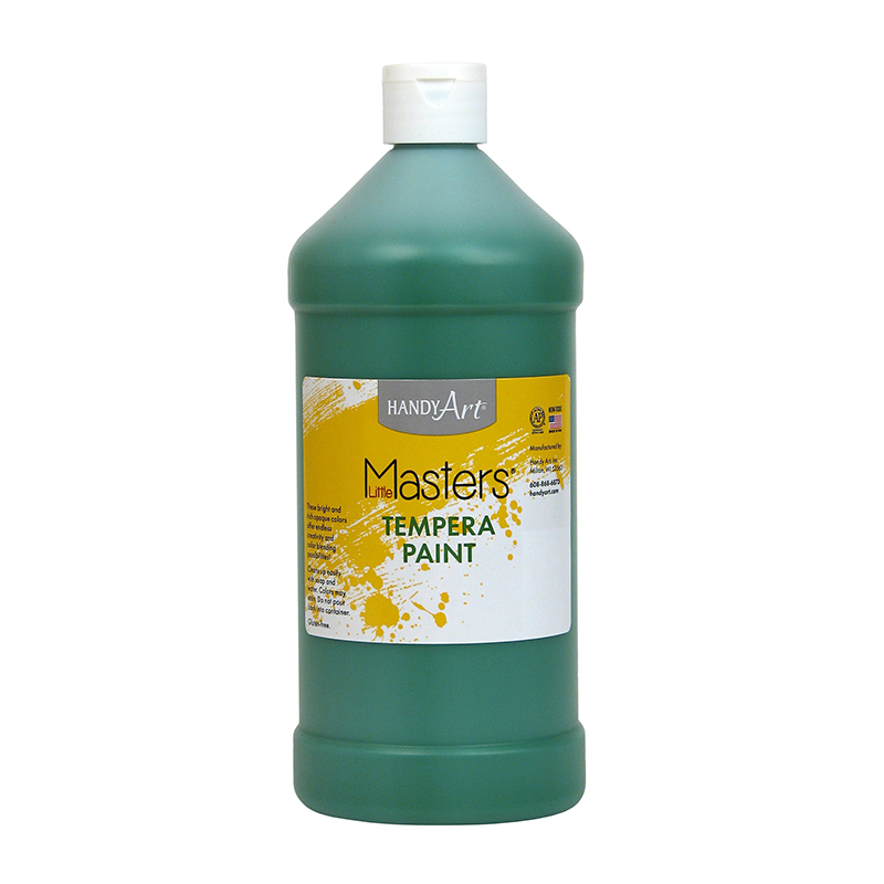 Little Masters Green 32oz Temperapaint