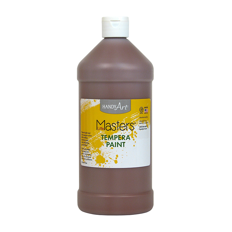 Little Masters Brown 32oz Temperapaint