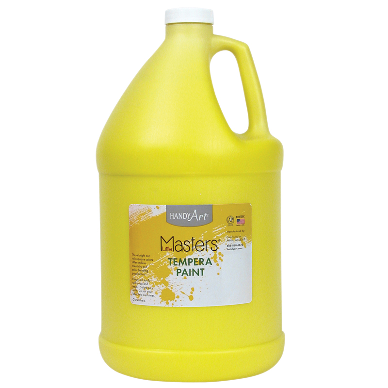 Little Masters Yellow 128oz Temperapaint