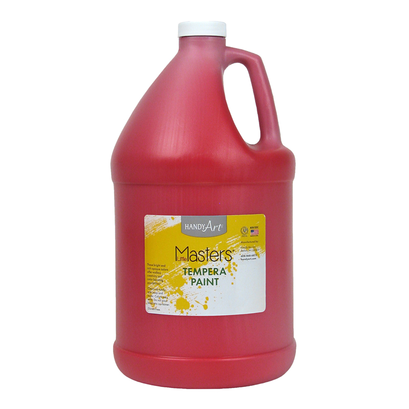 Little Masters Red 128oz Temperapaint