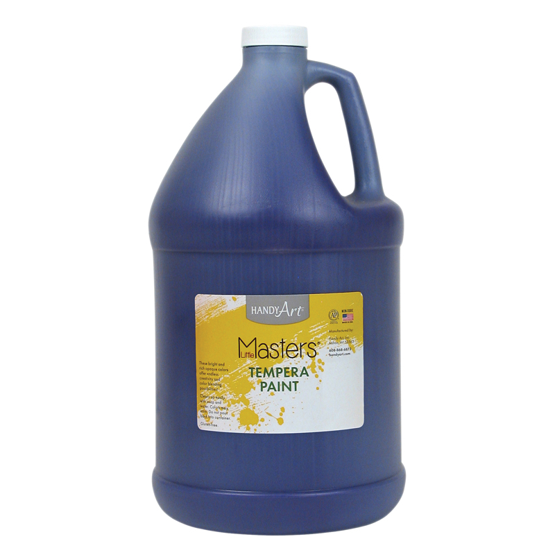 Little Masters Violet 128oz Temperapaint