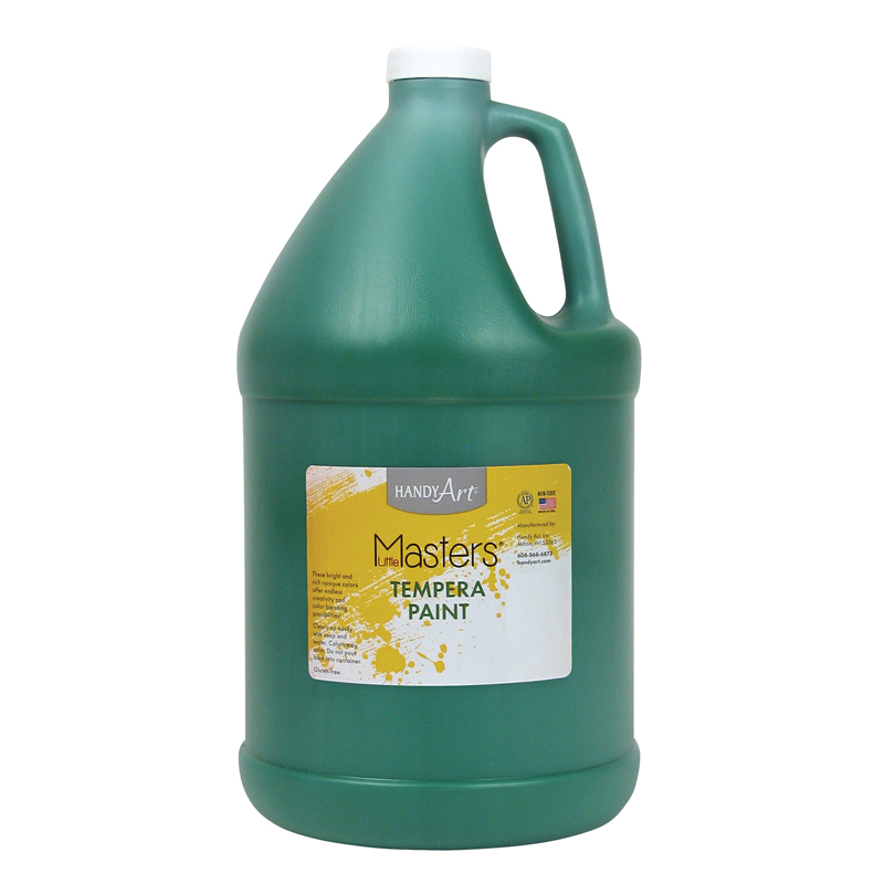 Little Masters Green 128oz Temperapaint