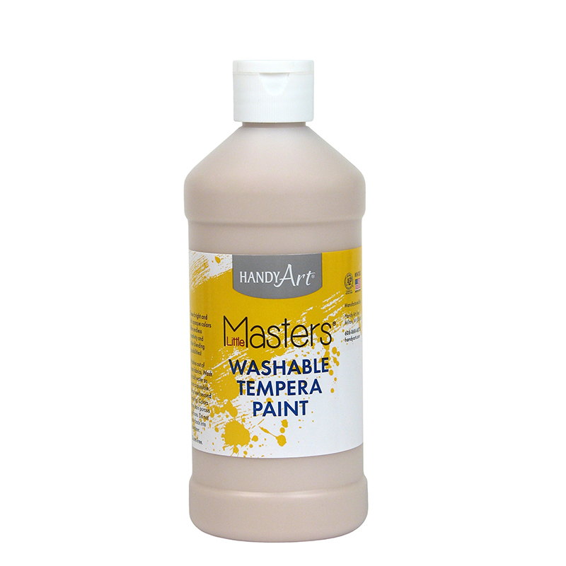 Little Masters Peach 16oz Washablepaint