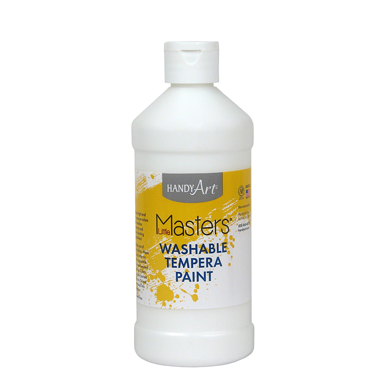 Little Masters White 16oz Washablepaint