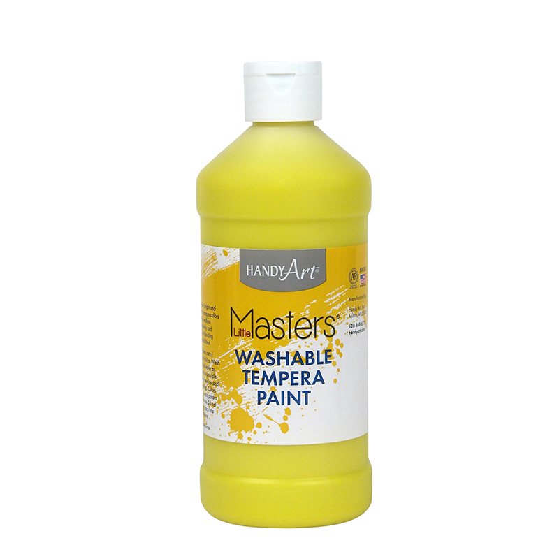 Little Masters Yellow 16oz Washablepaint