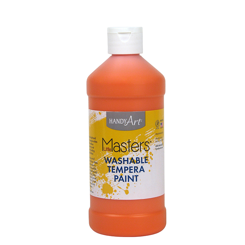 Little Masters Orange 16oz Washablepaint