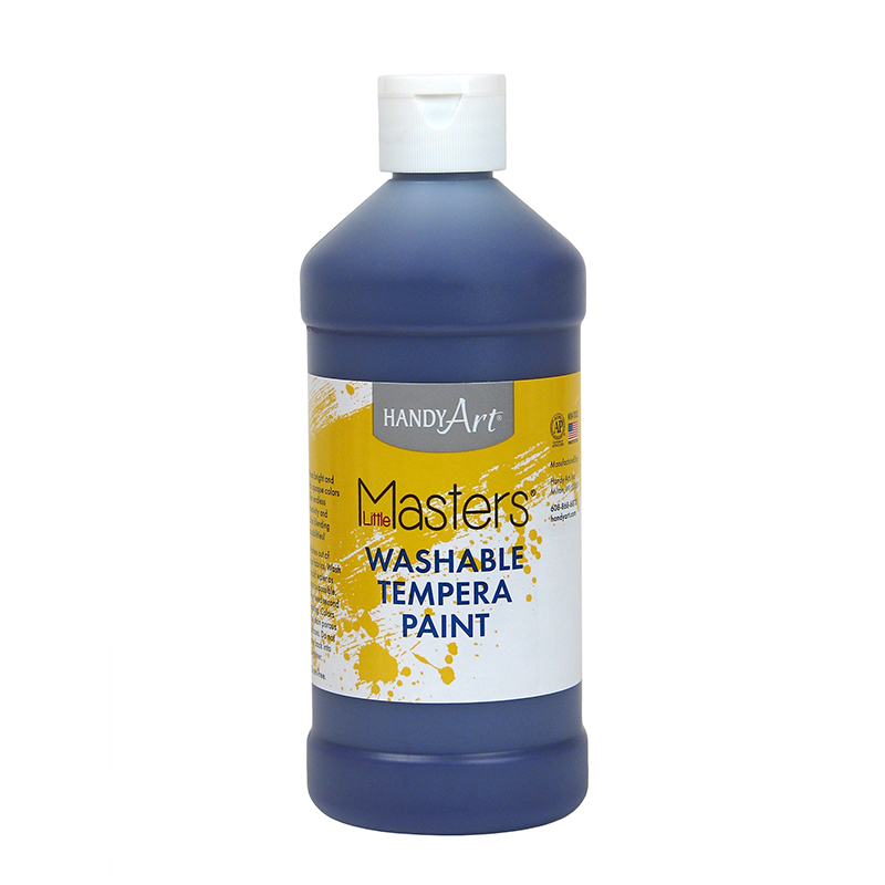 Little Masters Violet 16oz Washablepaint