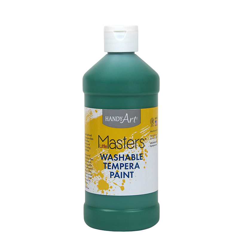 Little Masters Green 16oz Washablepaint