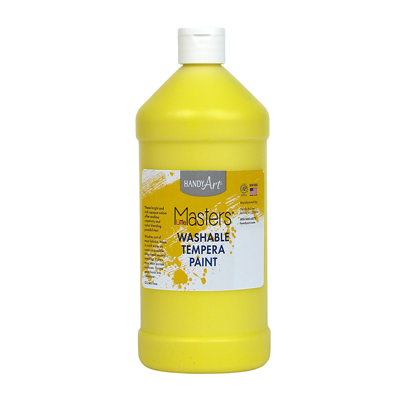 Little Masters Yellow 32oz Washablepaint
