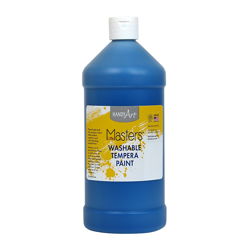 Little Masters Blue 32oz Washablepaint
