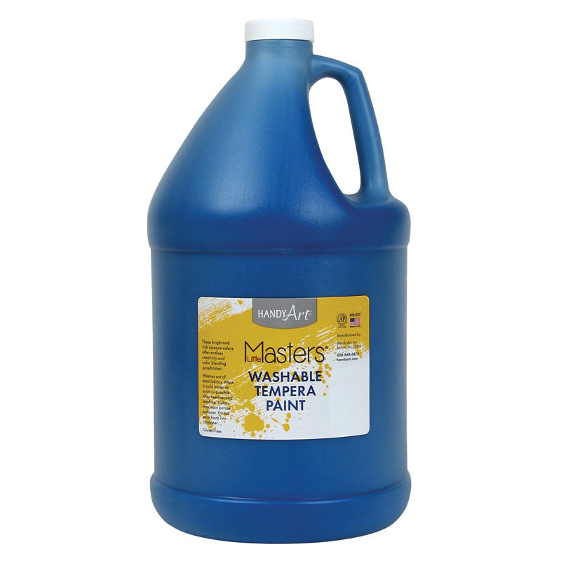 Little Masters Blue 128oz Washablepaint