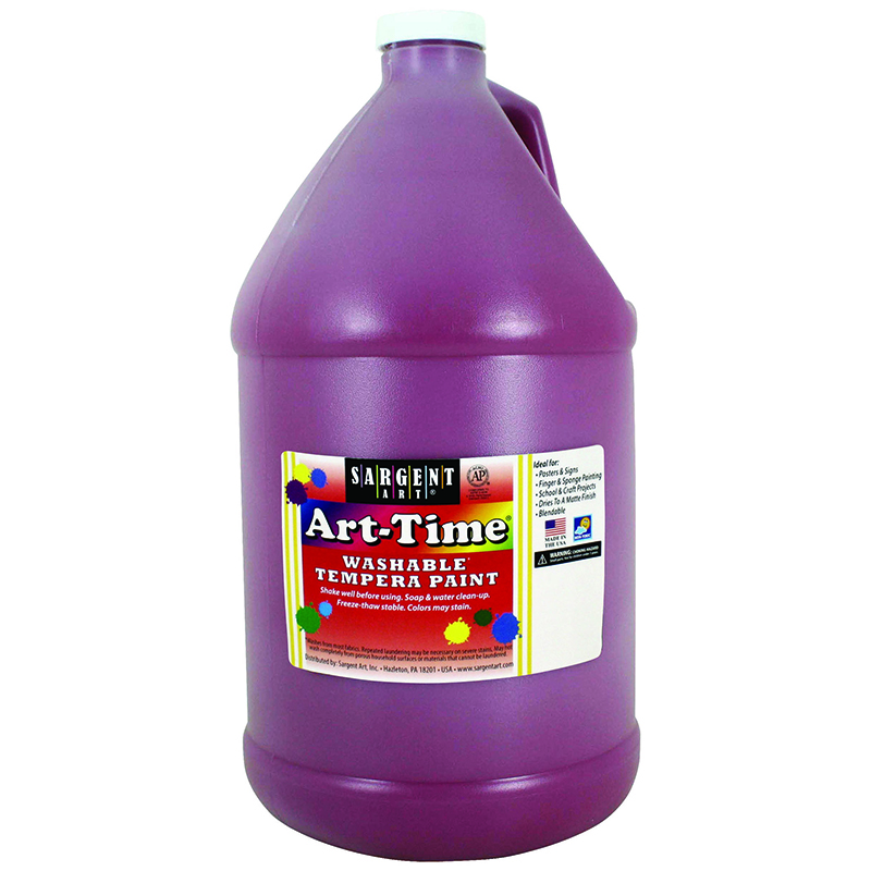 Magenta Art-time Washable Paint Gal