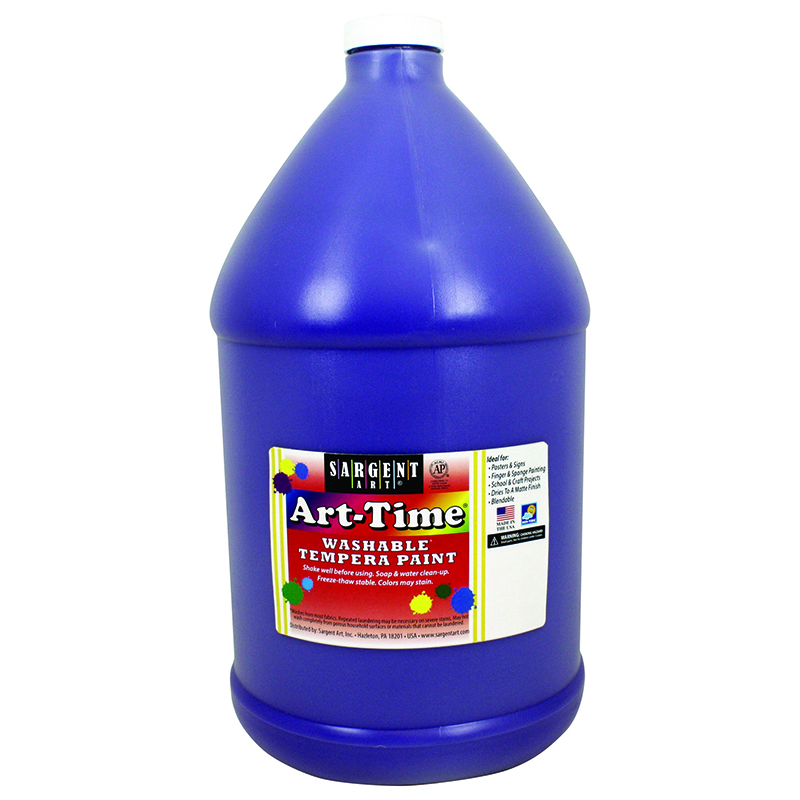 Violet Art-time Washable Paint Glln