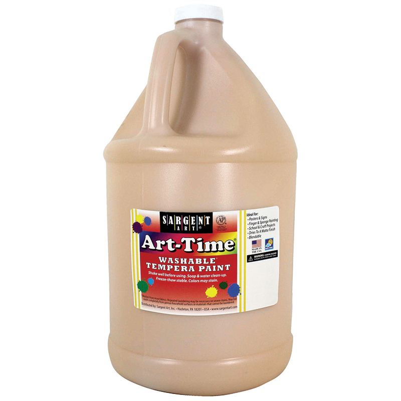 Peach Art-time Washable Paint Gal