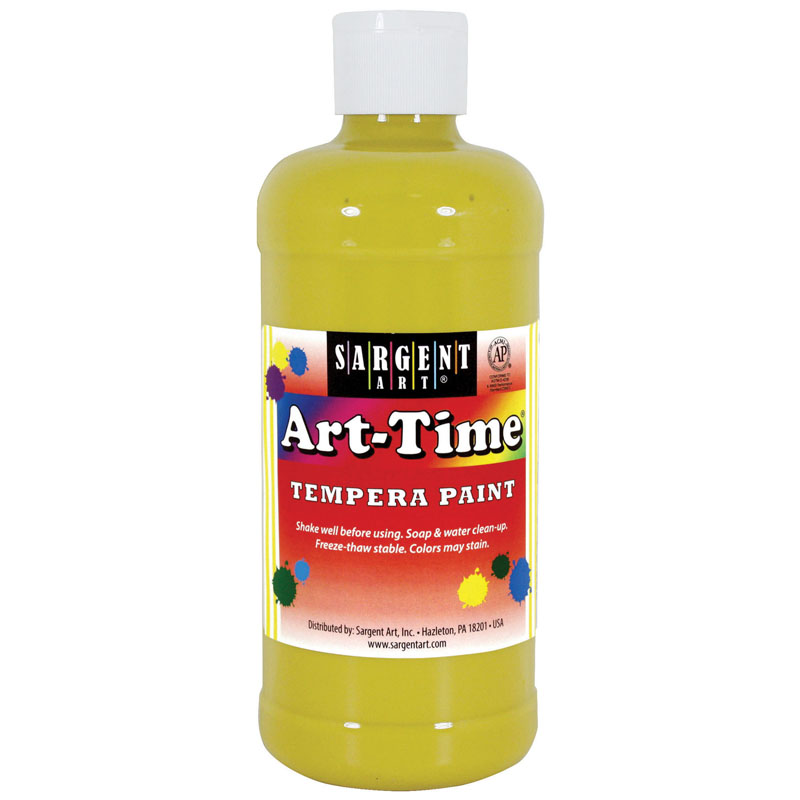 (12 Ea) Yellow Art-time 16 Oz