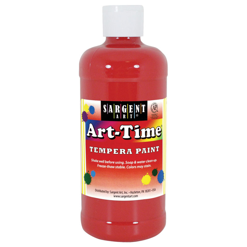 (12 Ea) Red Art-time 16 Oz