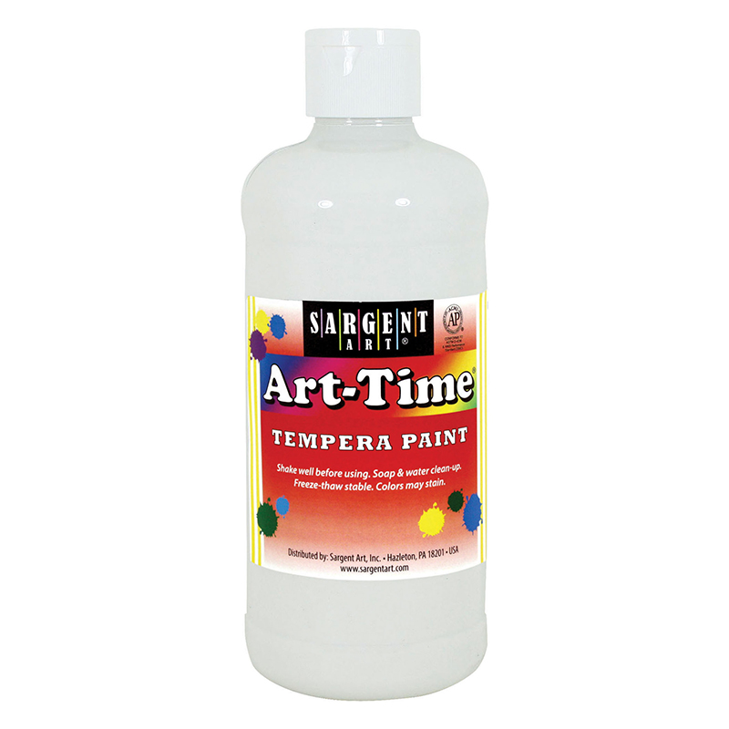 White Art-time 16 Oz