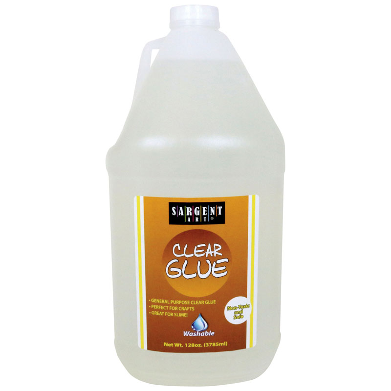 Clear Washable Glue 128 Ounces