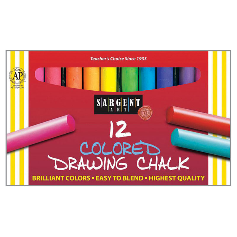 (12 Bx) Drawing Chalk 12 Bx