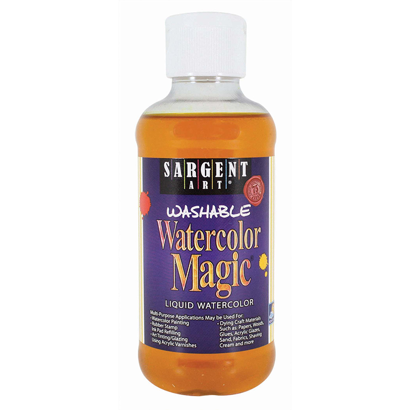 Watercolor Magic Yellow 8 Oz
