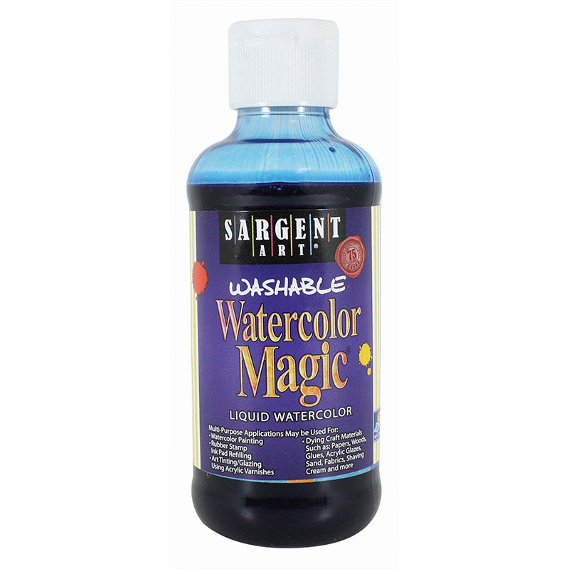 Watercolor Magic Blue 8oz