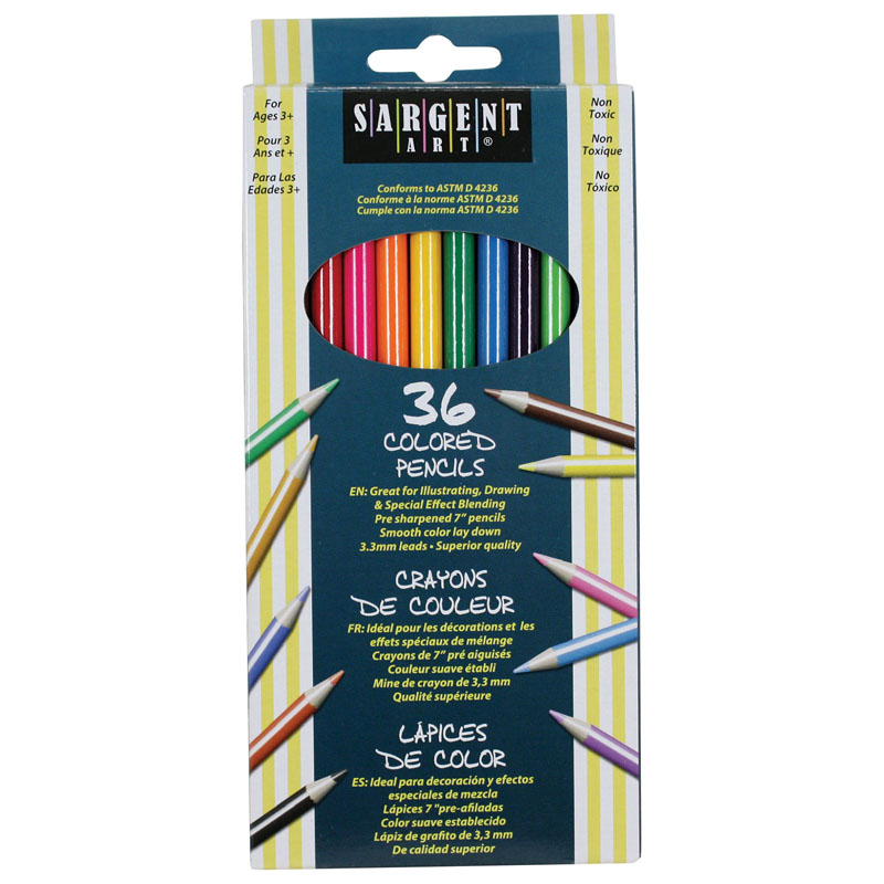 Sargent Art Colored Pencils 36colors