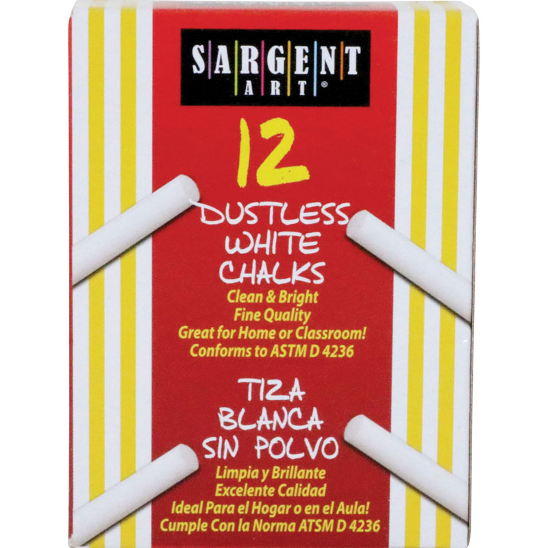 (36 Bx) Sargent School Gr Dustlesschalk White