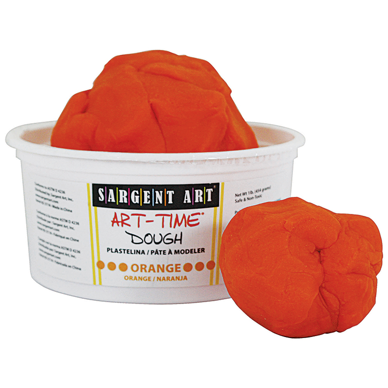 1lb Art Time Dough - Orange