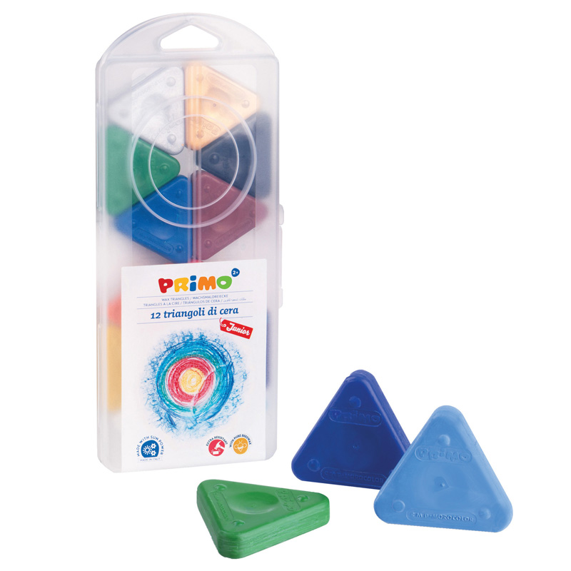 STW0731TR - PRIMO TRIANGLE CRAYONS